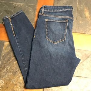 Ol Navy Rockstar Jeans 👖 14 regular ankle zipper